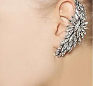 Women's  Personality Crystal Alloy Ear Clip (1 Pc)