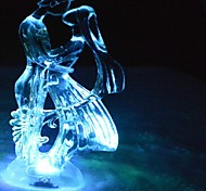 LED Color Change Transparent Frozen Lover Shaped Mini Light Christmas Props