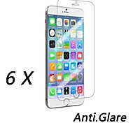 qualitativ hochwertige Anti-Fingerprint Schutzfolie für iPhone 6s / 6 (6 Stück)
