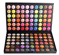 Profissional 120 cor Ultra Set Shimmer Eyeshadow Palette Cosméticos 120G