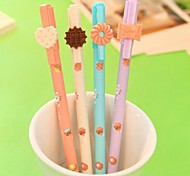 Dessert Shaped Black Ink Gel Pen(1 PCS Random Color)