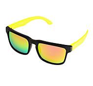 rectángulo polarizado gafas de sol de moda materiales mixtos