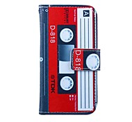 The Tape Pattern PU Leather Case for Samsung Galaxy S4 MINI I9190