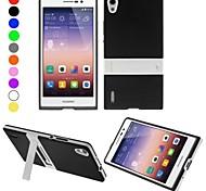 Enkay caso di tpu protettivo con il basamento per Huawei Ascend p7 (colori assortiti)
