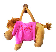Lion Design Plush Toys Soft Hand Bag(Random Color)