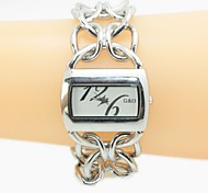 Women's Square Analog Quartz Bracelet Watch Cool Watches Unique Watches