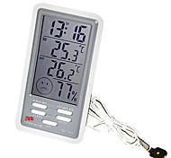 termômetro eletrônico de alta precisão com sonda interior&ao ar livre (-50 ~ 90 ℃)