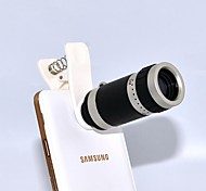Optical 8X Zoom Telescope Lens Manual Focus with Clip for Samsung S3/S4/S5/Note and Others