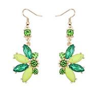Frauen eu&uns Lust Perlen Blume süchtig baumeln Ohrringe