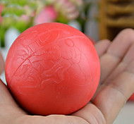 Dogs / Cats Toys Ball Rubber Red