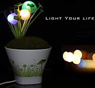 LED Voice Control Potted Romance Night Light