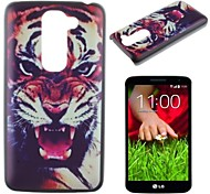 Fierce Tiger Pattern PC Hard Case for LG G2 mini
