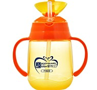 250ML Plastic Baby Water Drinking Cup High Quality Baby Training Cup with Handle