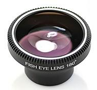 universal de la lente de ojo de pez de 180 ° para el iphone 4 / 4s / iPhone5 / 5s