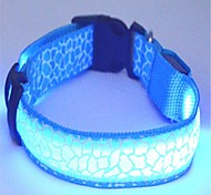 Cat / Dog Collars LED Lights Red / Blue / Yellow Nylon