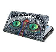 iphone 7 plus chat portefeuille étui en cuir PU couvercle avec support et carte slot pour iphone 6s 6 plus