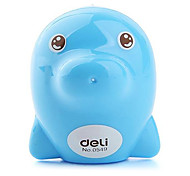 Children Kids Adorable Dolphin Shaped Pencil Sharpener (4-Pack)