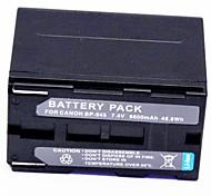 6600mAh 7.4V видеомагнитофон аккумулятор BP-945 для Canon ucx40hi ucx2hi ucv30hi ucv200 ucv10hi