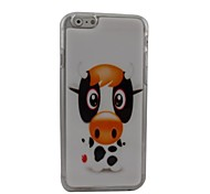Cartoon Cows Plastic Hard Back Cover for iPhone 6 Plus