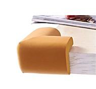4pcs material de borracha elástica amortecedores de canto ângulo mesa delicados (cor aleatória)