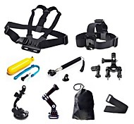Chest Harness Front Mounting Monopod Tripod Case/Bags Screw Suction Cup Hand Straps Straps Hand Grips/Finger Grooves Smart Remotes Mount