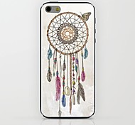 White Dreamcatcher Pattern hard Case for iPhone 6