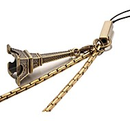 Eiffel Tower Bronze Cellphone Strap Lanyard(First 10 Customers With Box Added)