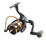 YB2000 Black  Fishing Reel 8BB YB2000 5.1:1  Spinning Fly Boat Fishing Reels