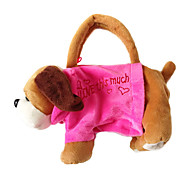Pug Design Plush Toys Soft Hand Bag