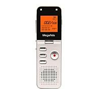 megafeis 8gb 50m larga distancia profesional grabadora de voz digital / pcm sello mp3 / dsp / tiempo / una grabación clave