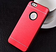 Wiredrawing Aluminum+Silicone Case for iPhone 6 (Assorted Colors)