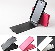 Hot Sale 100% PU Leather Flip Leather Up and Down Case for Huawei G610(Assorted Colors)