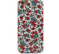 Beautiful Flowers Design Pattern Soft TPU Case Cover for iPhone 6