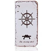 Retro PU Leather Case for iPhone 6