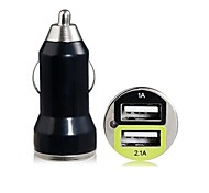 Dual USB Mini Car Charger for iPhone 6/ iPhone 6 Plus/5/5S/5C/iPad5 and Others