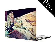 "Pirate Ship Design Full-Body Protective Plastic Case for MacBook Pro 13""/15"" (Non-Retina)"