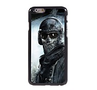 Warrior with Mask Design Aluminum Hard Case for iPhone 6