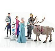 olaf boneco ann ELAS bonecas princesa brinquedos (6pcs / lot)