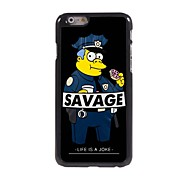 Police and Savage Design Aluminum Hard Case for iPhone 6 Plus