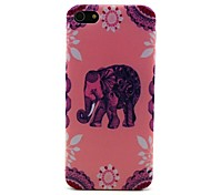Pink Elephant Pattern Hard Case for iPhone 5/5S