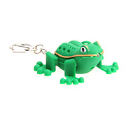 Cartoon Frog LED Light with Sound Effects Keychain
