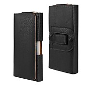Lichee Lines PU Leather Case with Waist Clip for iPhone 6