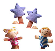 4PCS Twinkle Twinkle Little Star The Nursery Rhyme Finger Puppets