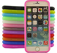 Jelly Silicone Case for iPhone 6/6S (Assorted Color)