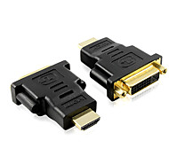 ALIP 1M 3.28FT DVI 24+5 Female to HDMI Male Computer And TV Connector