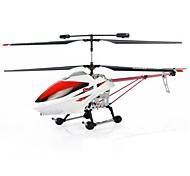 Huajun exclusieve, gepatenteerde rc helicopter 2.4g 3.5ch met led licht / gyro / super legering robuustheid hj807