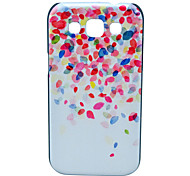 Colorful Petals Pattern Hard Case for Samsung Galaxy Win I8552
