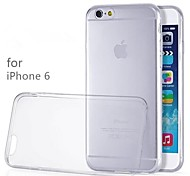TPU Transparent Soft Back Case for iPhone 6