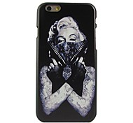 Tattoo Woman Pattern Plastic Hard Back Cover for iPhone 6