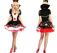 Disfraz de Halloween de Reina de Corazones, Negro